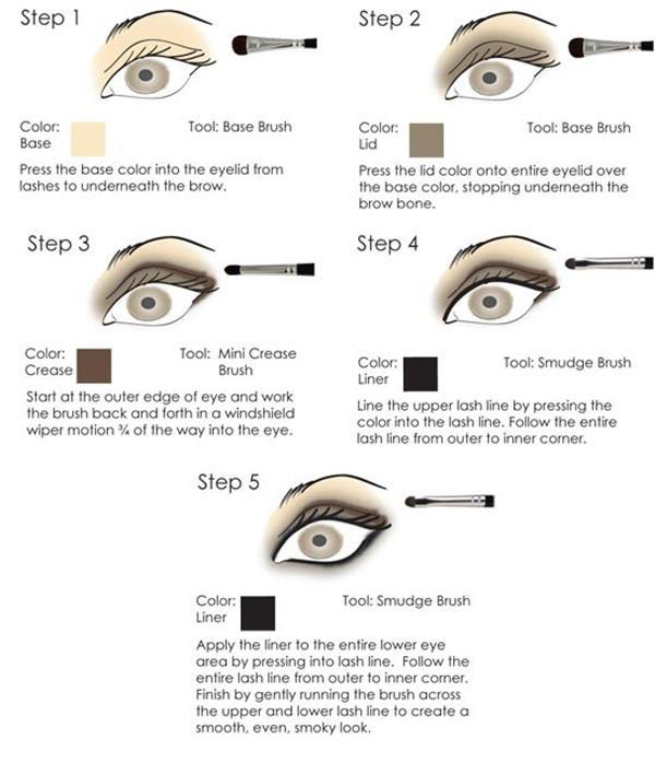 Amazing Black Brown Smokey Eye Make Up Ideas Looks Images 1 Amazing Black & Brown Smokey Eye Make Up Ideas, Looks & Images