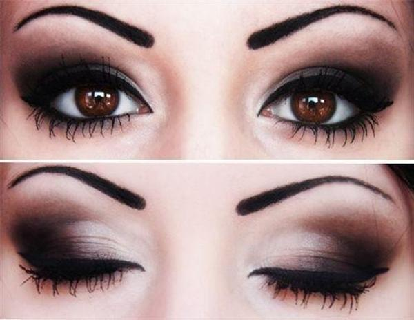 Amazing Black Brown Smokey Eye Make Up Ideas Looks Images 10 Amazing Black & Brown Smokey Eye Make Up Ideas, Looks & Images