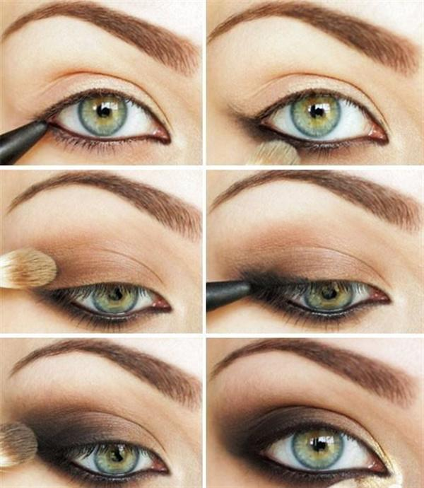 Amazing Black Brown Smokey Eye Make Up Ideas Looks Images 5 Amazing Black & Brown Smokey Eye Make Up Ideas, Looks & Images