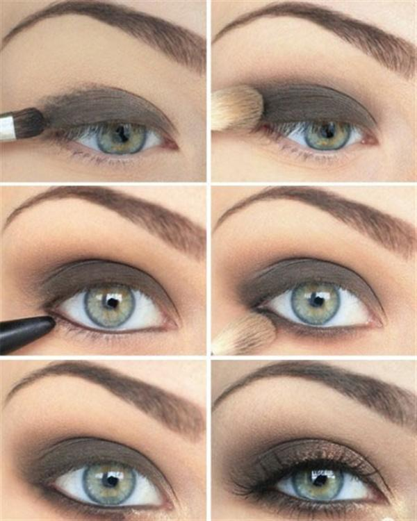 Amazing Black Brown Smokey Eye Make Up Ideas Looks Images 6 Amazing Black & Brown Smokey Eye Make Up Ideas, Looks & Images