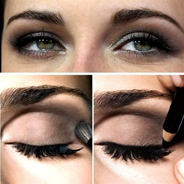Amazing Black Brown Smokey Eye Make Up Ideas Looks Images 8 Amazing Black & Brown Smokey Eye Make Up Ideas, Looks & Images