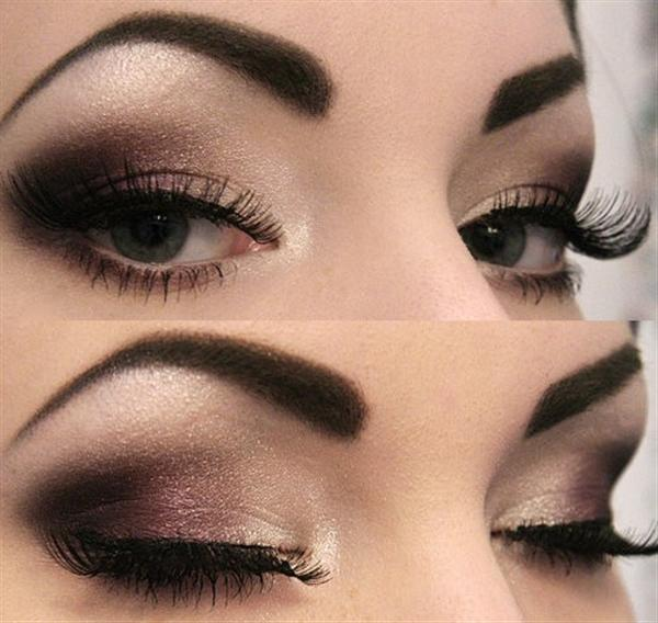 Amazing Black Brown Smokey Eye Make Up Ideas Looks Images 9 Amazing Black & Brown Smokey Eye Make Up Ideas, Looks & Images