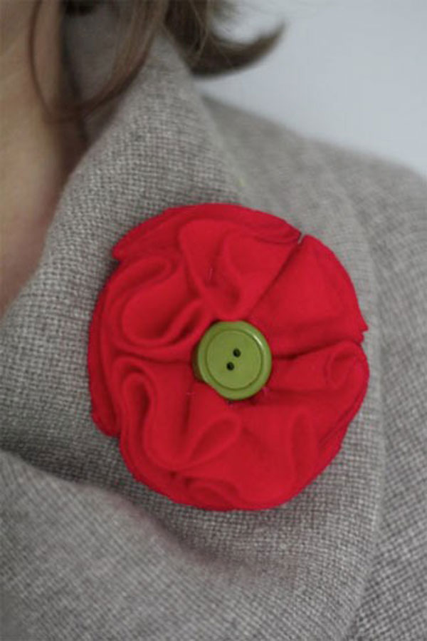 Awesome Yet Inspiring Button Brooches Crafts With Buttons 15 Awesome Yet Inspiring Button Brooches | Crafts With Buttons