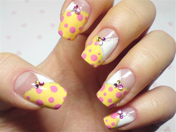 Creative Yet Cute Yellow Nail Art Designs Girlshue