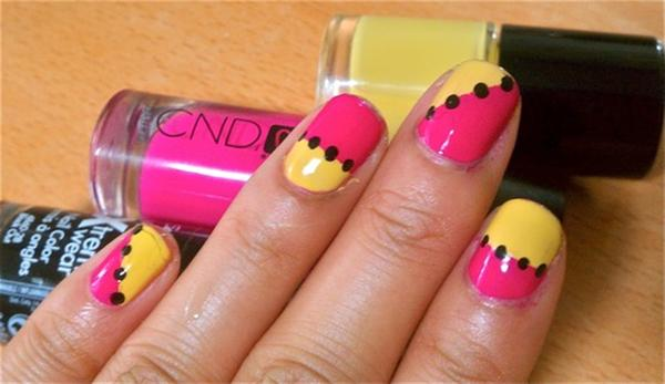 Creative Yet Cute Yellow Nail Art Designs-8
