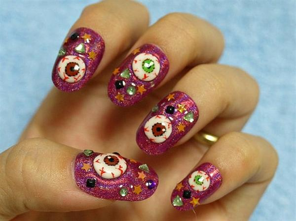 Elegant And Beautiful Japanese 3D Nail Art Designs, Supplies And Gallery-10