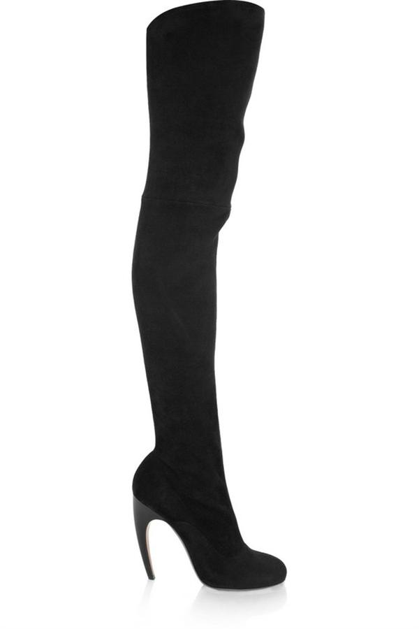 Leather Stiletto Long boots Thigh High Heels For Women 21 Leather Stiletto Long boots, Thigh High Heels For Women