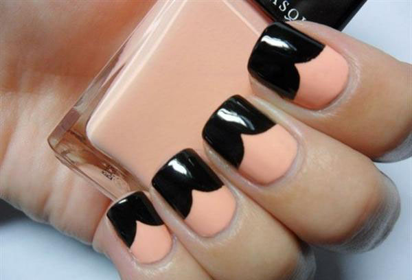 Simple Black Nail Art Designs & Supplies For Beginners-4