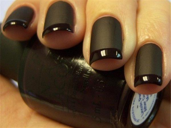 Simple Black Nail Art Designs & Supplies For Beginners-8