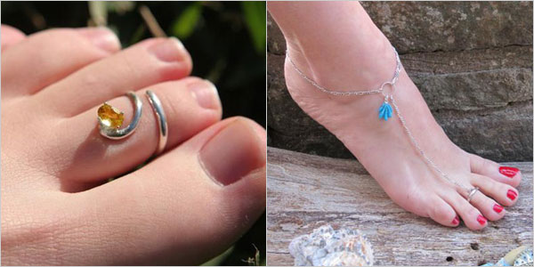 Simple-Elegant-Stylish-Toe-Rings-Anklets-For-Ladies