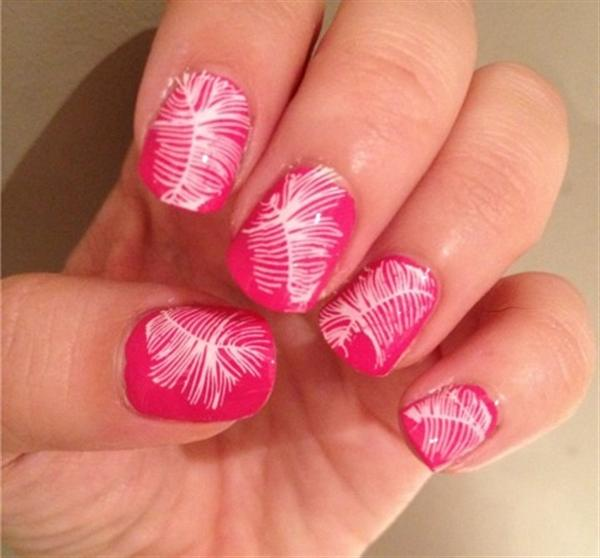 Superb Yet Creative Pink Nail Art Designs And Galleries For Beginners-2
