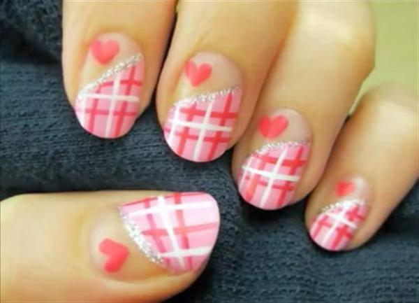 Superb Yet Creative Pink Nail Art Designs And Galleries For Beginners-3