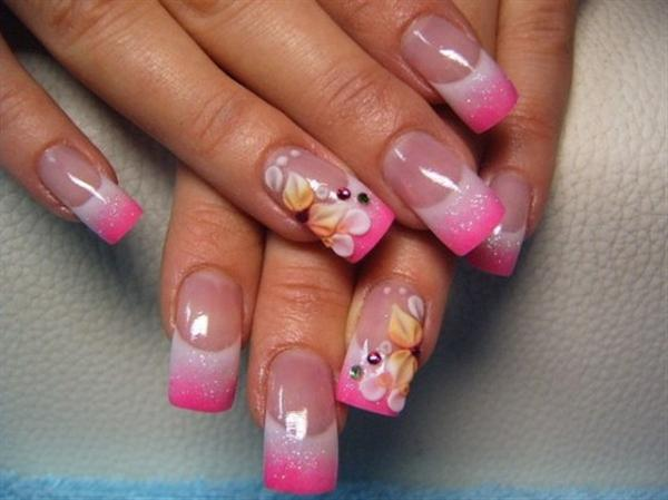 Superb Yet Creative Pink Nail Art Designs And Galleries For Beginners-5