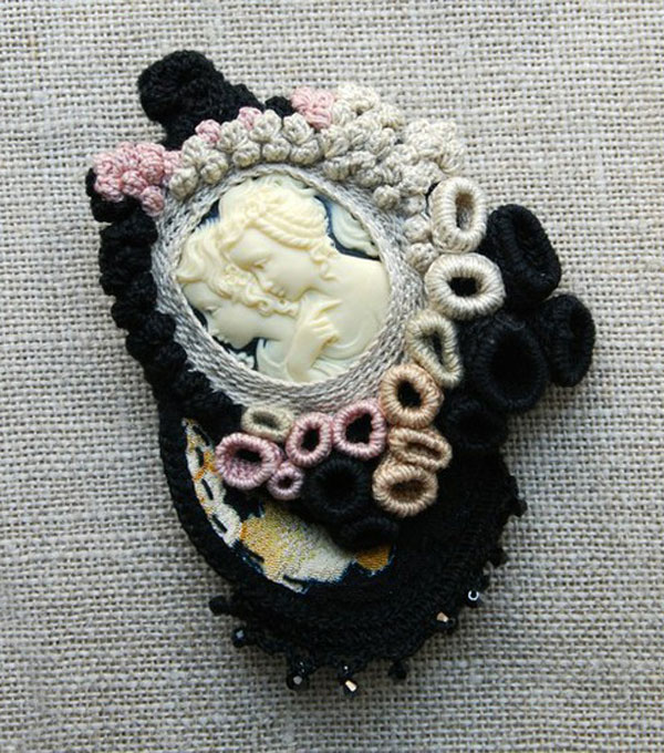 Awesome Inspiring Cameo Brooches From Etsy 8 Awesome & Inspiring Cameo Brooches From Etsy