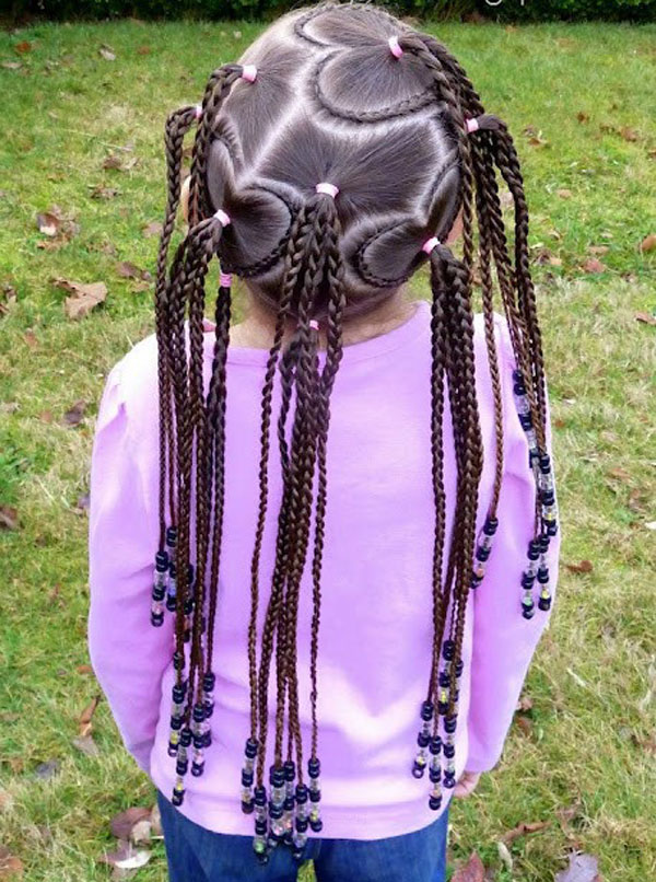 Cool, Fun & Unique Kids Braid Designs -Simple & Best Braiding Hairstyles For Kids 2012-11