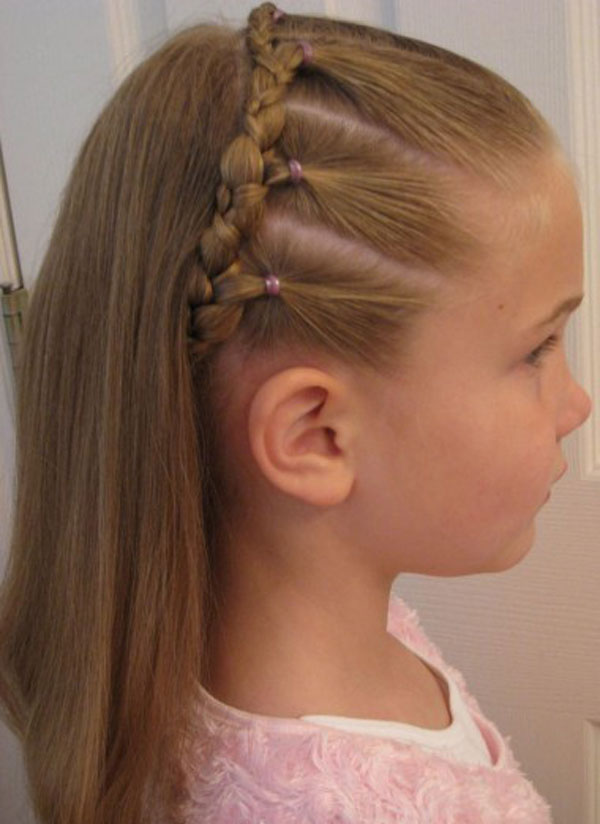 Kids Braid Designs -Simple & Best Braiding Hairstyles For Kids 2012-16