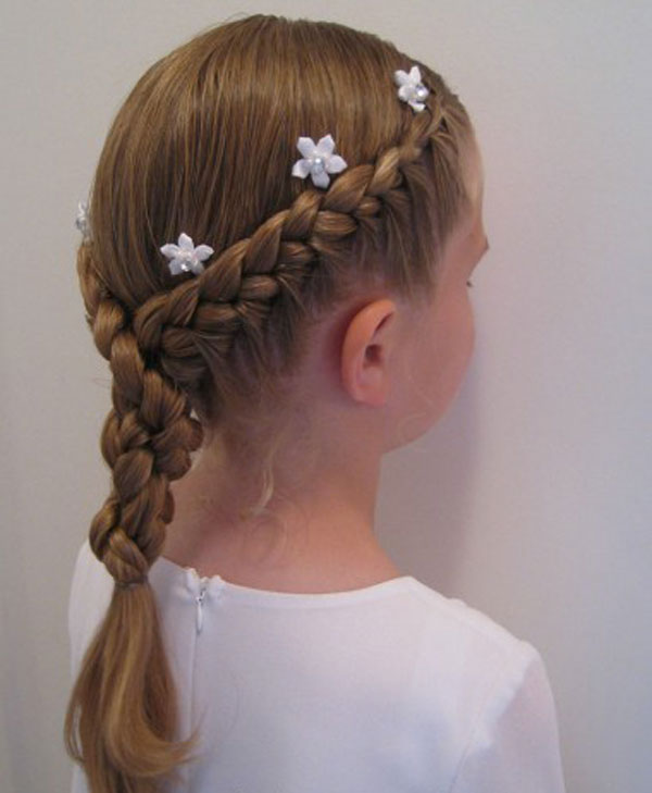 Cool, Fun & Unique Kids Braid Designs -Simple & Best Braiding Hairstyles For Kids 2012-18