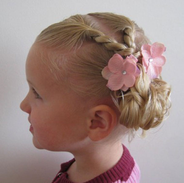 Cool, Fun & Unique Kids Braid Designs -Simple & Best Braiding Hairstyles For Kids 2012-25
