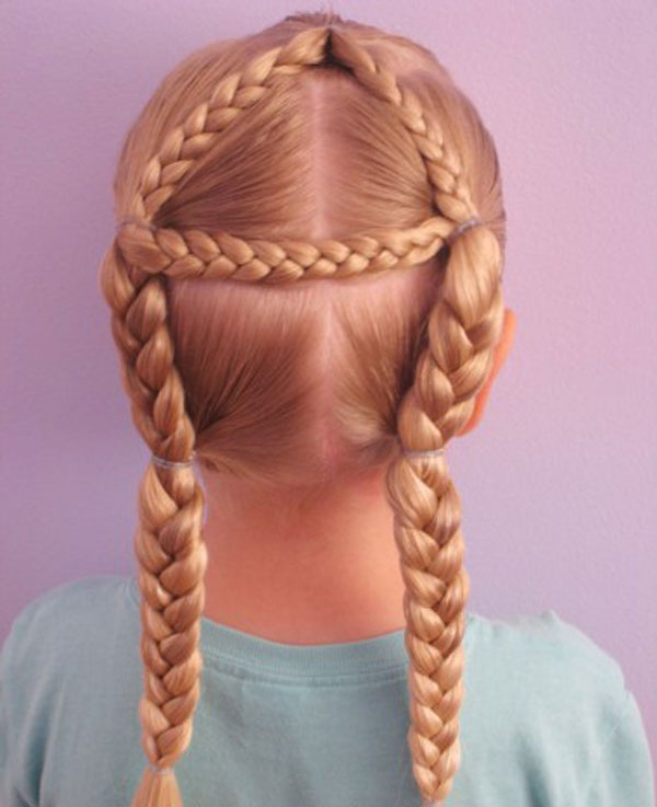 Cool, Fun & Unique Kids Braid Designs -Simple & Best Braiding Hairstyles For Kids 2012-28