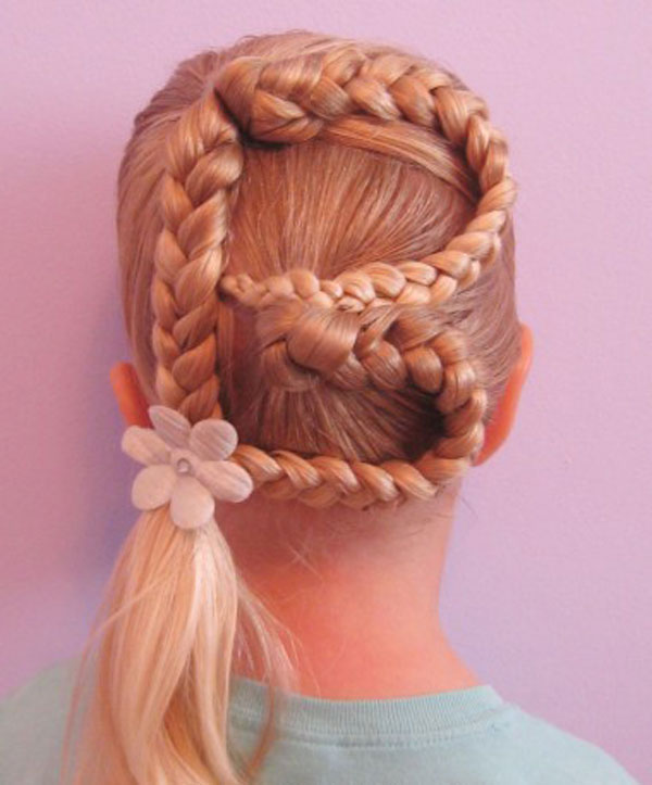 Cool, Fun & Unique Kids Braid Designs -Simple & Best Braiding Hairstyles For Kids 2012-29