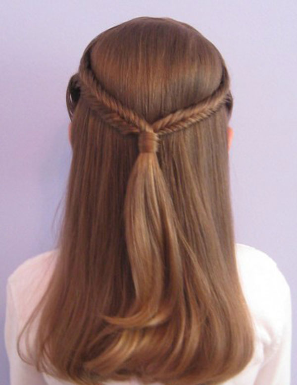 Kids Braid Designs -Simple & Best Braiding Hairstyles For Kids 2012-3