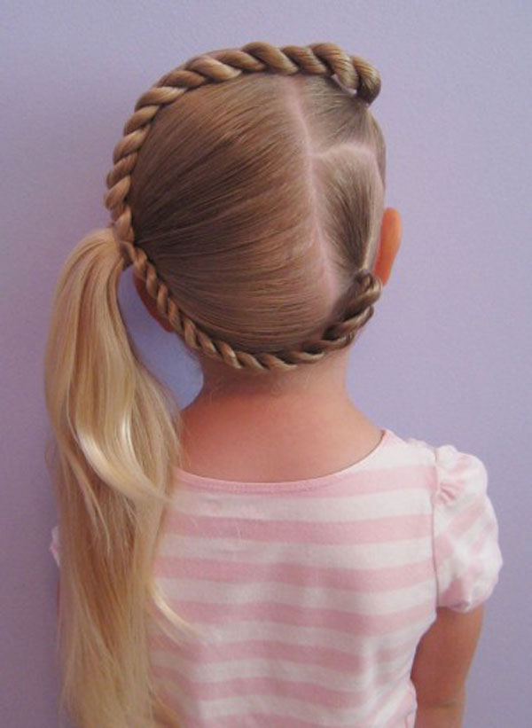 Cool, Fun & Unique Kids Braid Designs -Simple & Best Braiding Hairstyles For Kids 2012-30