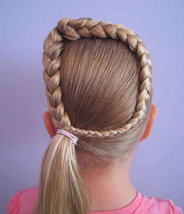 Cool, Fun & Unique Kids Braid Designs -Simple & Best Braiding Hairstyles For Kids 2012-31