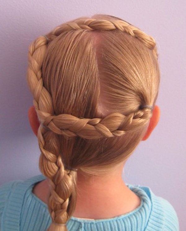 Cool, Fun & Unique Kids Braid Designs -Simple & Best Braiding Hairstyles For Kids 2012-33