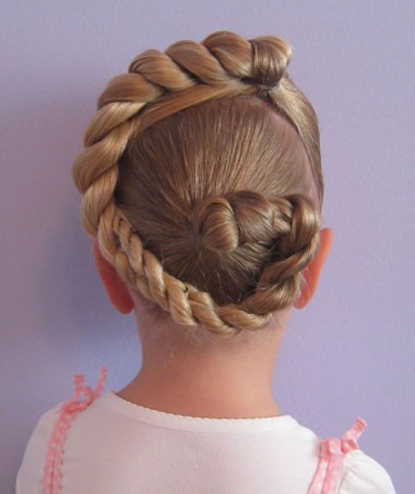 Cool, Fun & Unique Kids Braid Designs -Simple & Best Braiding Hairstyles For Kids 2012-34