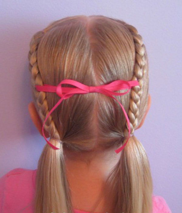Cool, Fun & Unique Kids Braid Designs -Simple & Best Braiding Hairstyles For Kids 2012-35