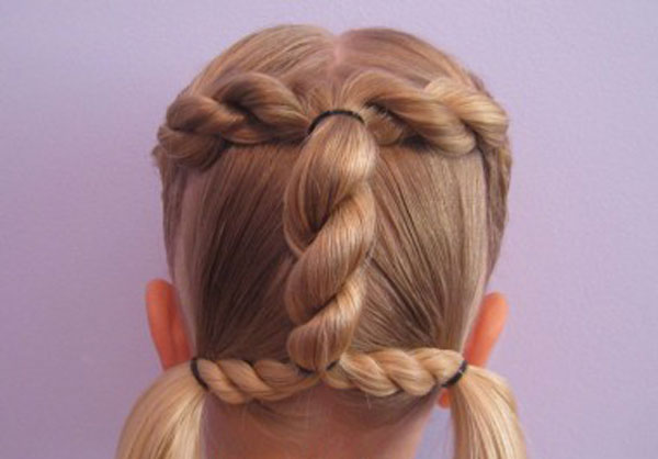 Cool, Fun & Unique Kids Braid Designs -Simple & Best Braiding Hairstyles For Kids 2012-36