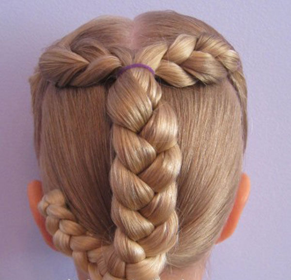 Cool, Fun & Unique Kids Braid Designs -Simple & Best Braiding Hairstyles For Kids 2012-37
