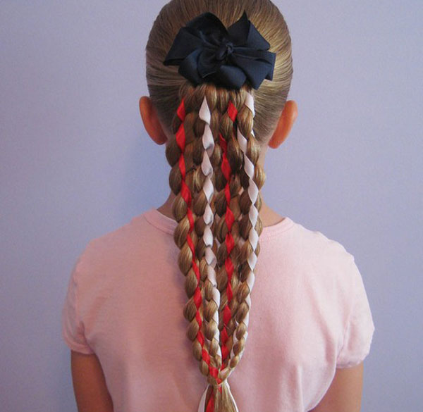 Cool, Fun & Unique Kids Braid Designs -Simple & Best Braiding Hairstyles For Kids 2012-4