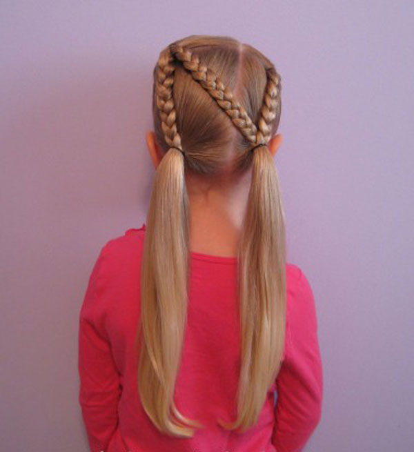 Cool, Fun & Unique Kids Braid Designs -Simple & Best Braiding Hairstyles For Kids 2012-41