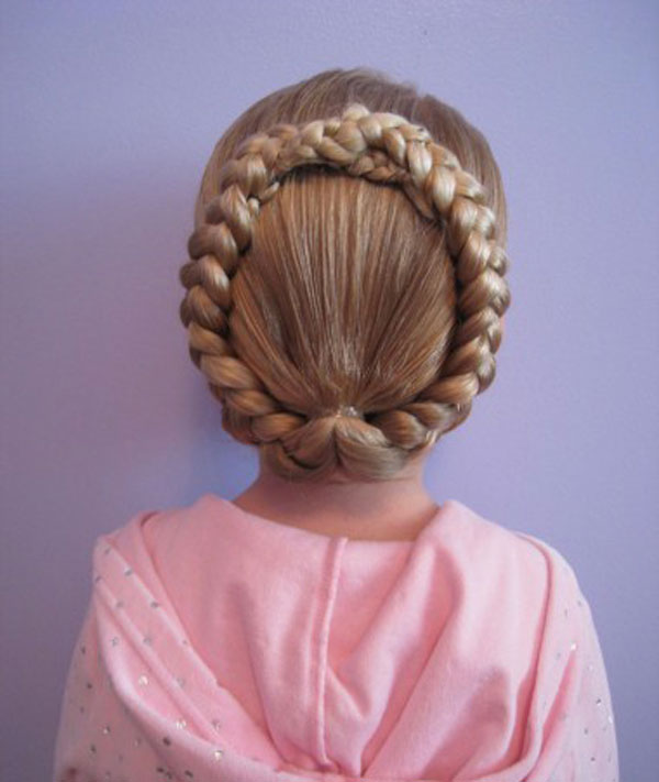 Cool, Fun & Unique Kids Braid Designs -Simple & Best Braiding Hairstyles For Kids 2012-42