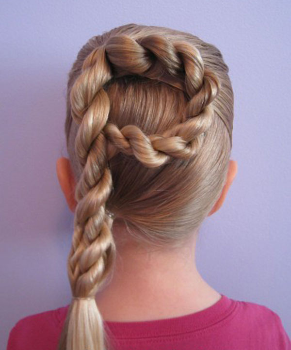 Cool, Fun & Unique Kids Braid Designs -Simple & Best Braiding Hairstyles For Kids 2012-43