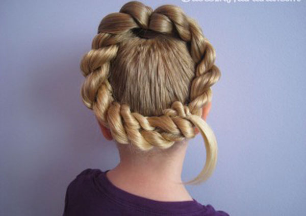 Cool, Fun & Unique Kids Braid Designs -Simple & Best Braiding Hairstyles For Kids 2012-44