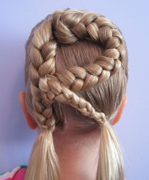Cool, Fun & Unique Kids Braid Designs -Simple & Best Braiding Hairstyles For Kids 2012-45