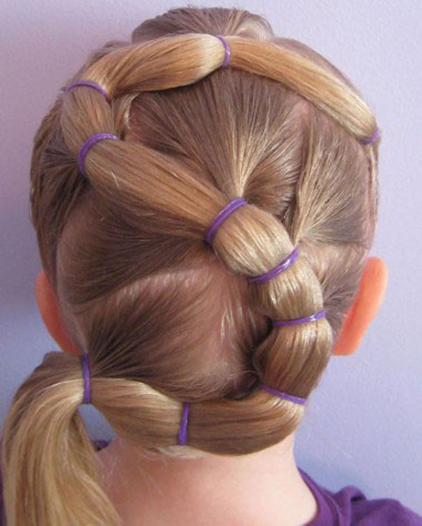 Cool, Fun & Unique Kids Braid Designs -Simple & Best Braiding Hairstyles For Kids 2012-46