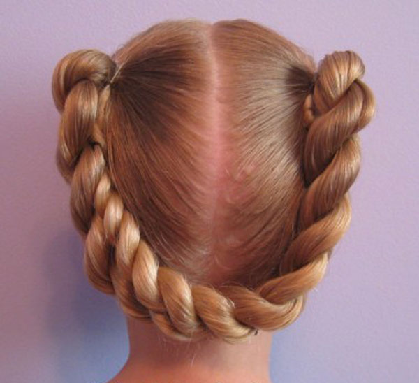 Cool, Fun & Unique Kids Braid Designs -Simple & Best Braiding Hairstyles For Kids 2012-48