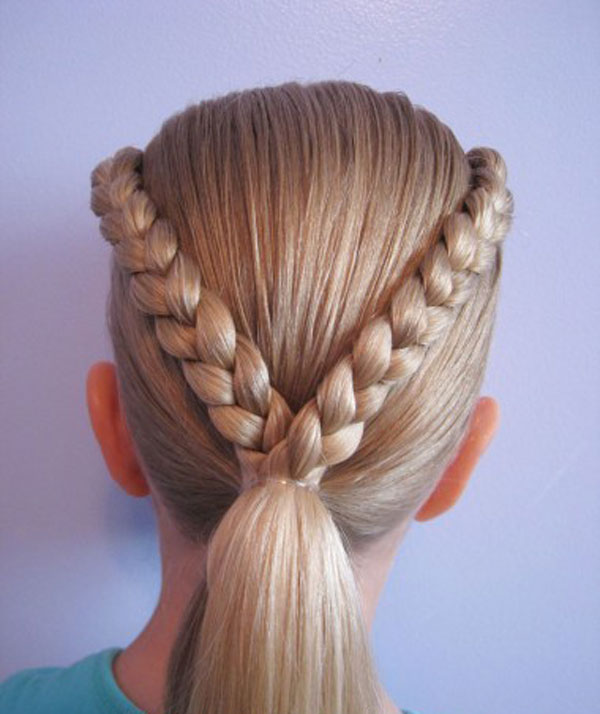 Cool, Fun & Unique Kids Braid Designs -Simple & Best Braiding Hairstyles For Kids 2012-49