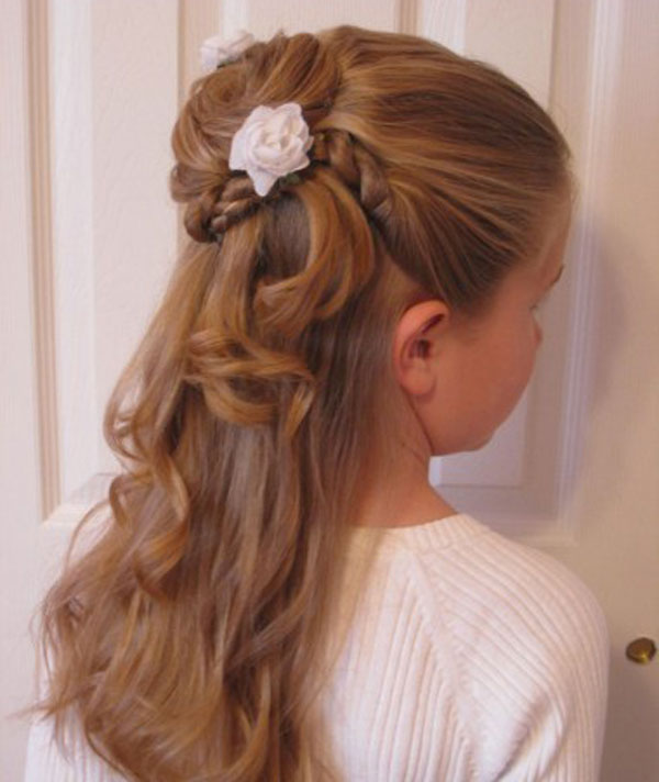 Cool, Fun & Unique Kids Braid Designs -Simple & Best Braiding Hairstyles For Kids 2012-5