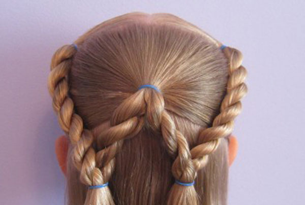 Cool, Fun & Unique Kids Braid Designs -Simple & Best Braiding Hairstyles For Kids 2012-50