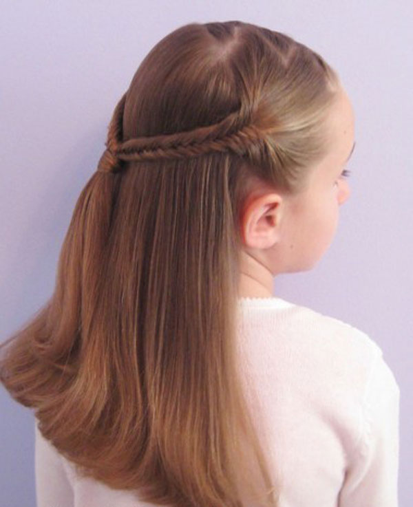 Cool, Fun & Unique Kids Braid Designs -Simple & Best Braiding Hairstyles For Kids 2012-6