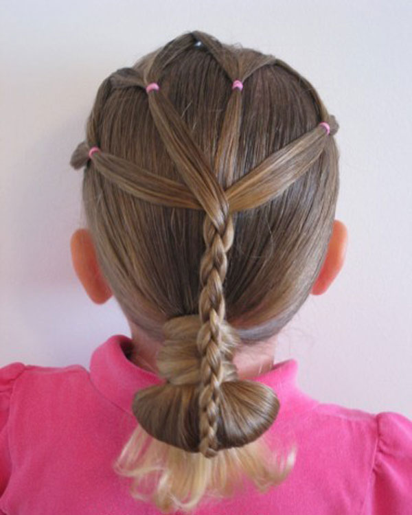 Cool, Fun & Unique Kids Braid Designs -Simple & Best Braiding Hairstyles For Kids 2012-7