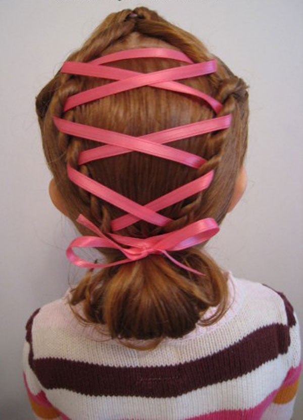Cool, Fun & Unique Kids Braid Designs -Simple & Best Braiding Hairstyles For Kids 2012-8