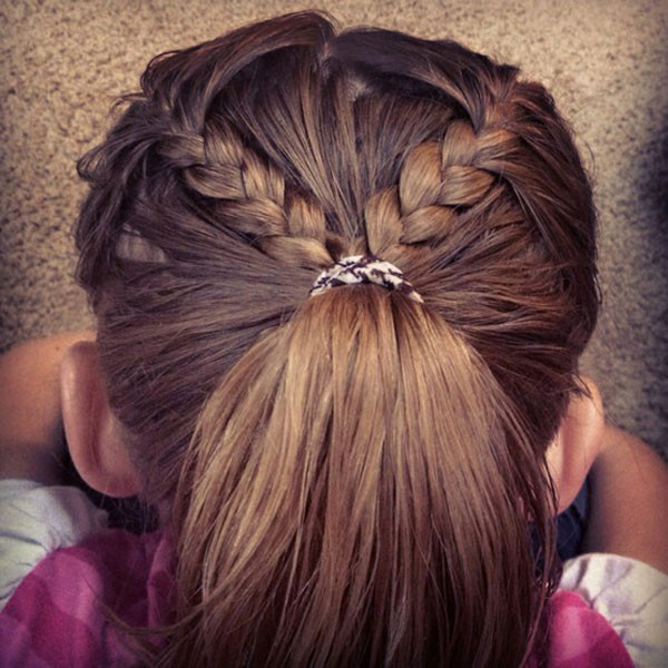 Cool, Fun & Unique Kids Braid Designs -Simple & Best Braiding Hairstyles For Kids 2012-9