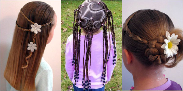 Kids Braid Designs Simple Best Braiding Hairstyles For Kids 2012 F