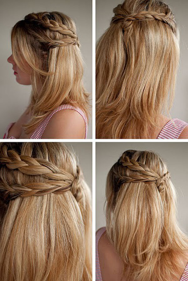 Easy Cute Fun Different Best Yet Simple French Braids Pretty Unique Braiding Hairstyles 2012 For Girls 4 Easy, Cute, Fun, Different, Best Yet Simple French Braids | Pretty & Unique Braiding Hairstyles 2012 For Girls