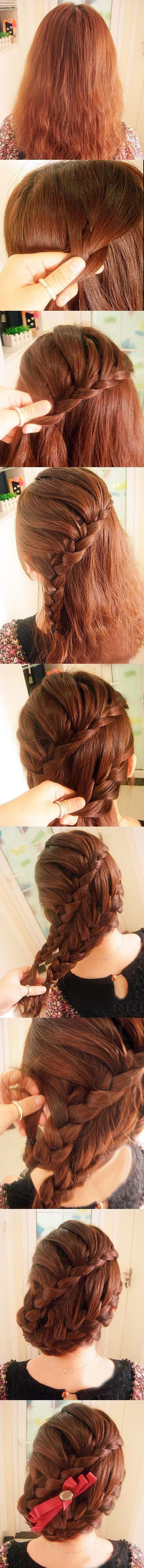 Easy Cute Fun Different Best Yet Simple French Braids Pretty Unique Braiding Hairstyles 2012 For Girls 5 Easy, Cute, Fun, Different, Best Yet Simple French Braids | Pretty & Unique Braiding Hairstyles 2012 For Girls